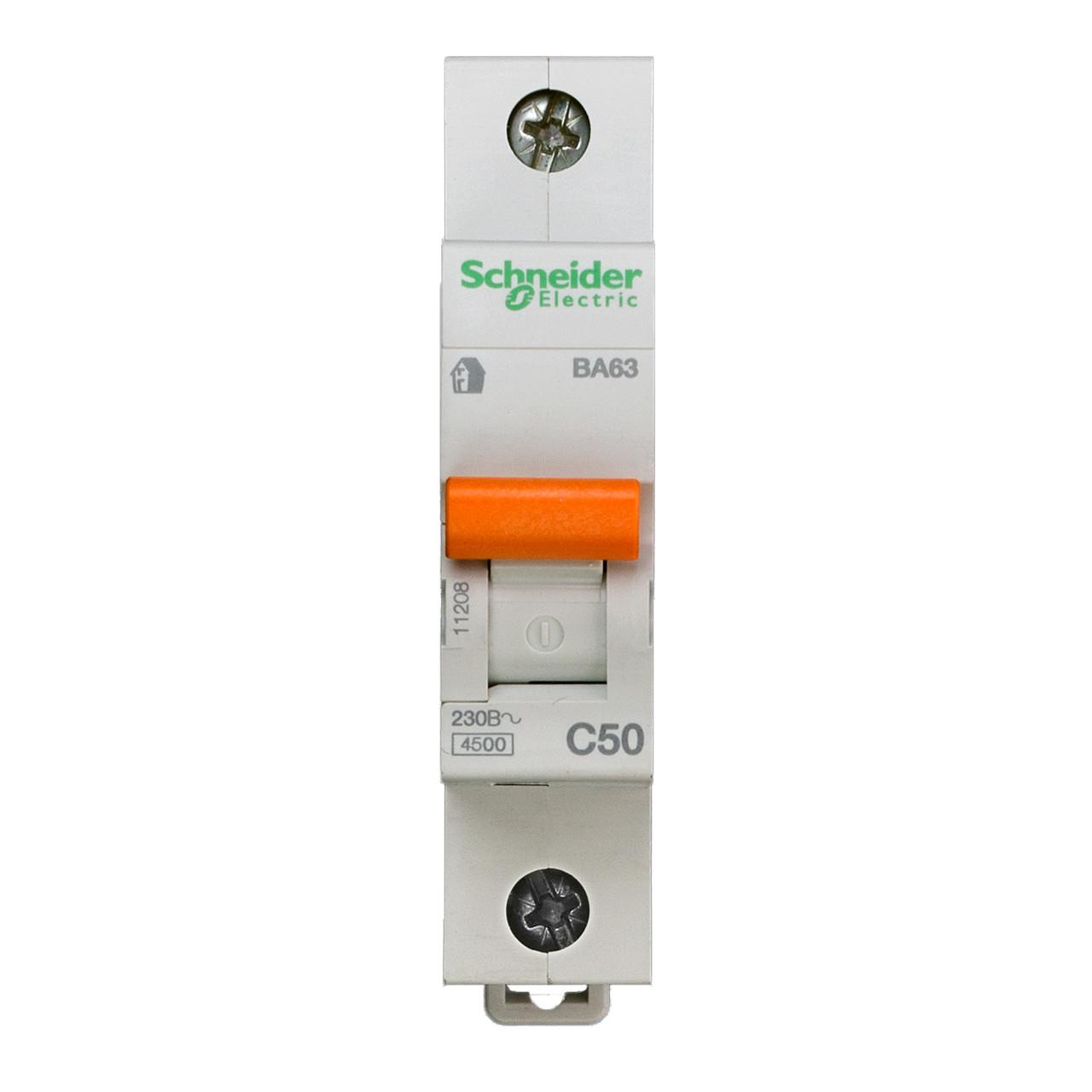 11208 Автоматический выключатель  ВА63 1п 50A  C