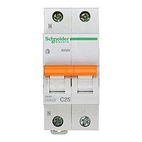 11215 Автоматический выключатель  ВА63 1п+н 25A  C                      , фото 1