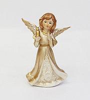 Статуэтка Ангел со свечой. Ручная работа, Италия