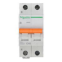 11217 Автоматический выключатель  ВА63 1п+н 40A  C, фото 1