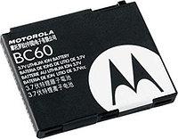 Заводской аккумулятор для Motorola L7 (BC60, 1000mah)