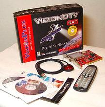 TV Tuner ДУ Digital Satellite TV Card Vision DTV, Тюнер для приема цифровых спутниковых теле- и радиопрограмм