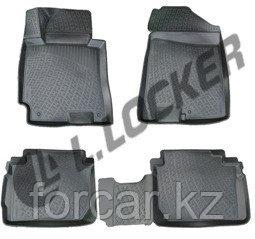 3D Коврики в салон Kia Cerato III sedan (13-)  L.Locker