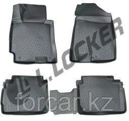 3D Коврики в салон Kia Cerato III sedan (13-)  L.Locker, фото 2