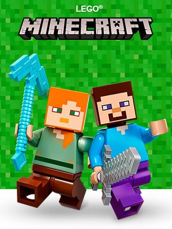 LEGO minecraft (лего майнкрафт)