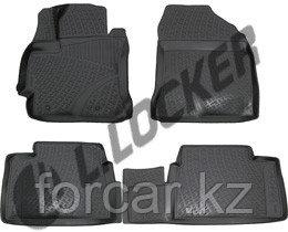 3D Коврики в салон Corolla XI sedan (c 2013-)   L.Locker, фото 2