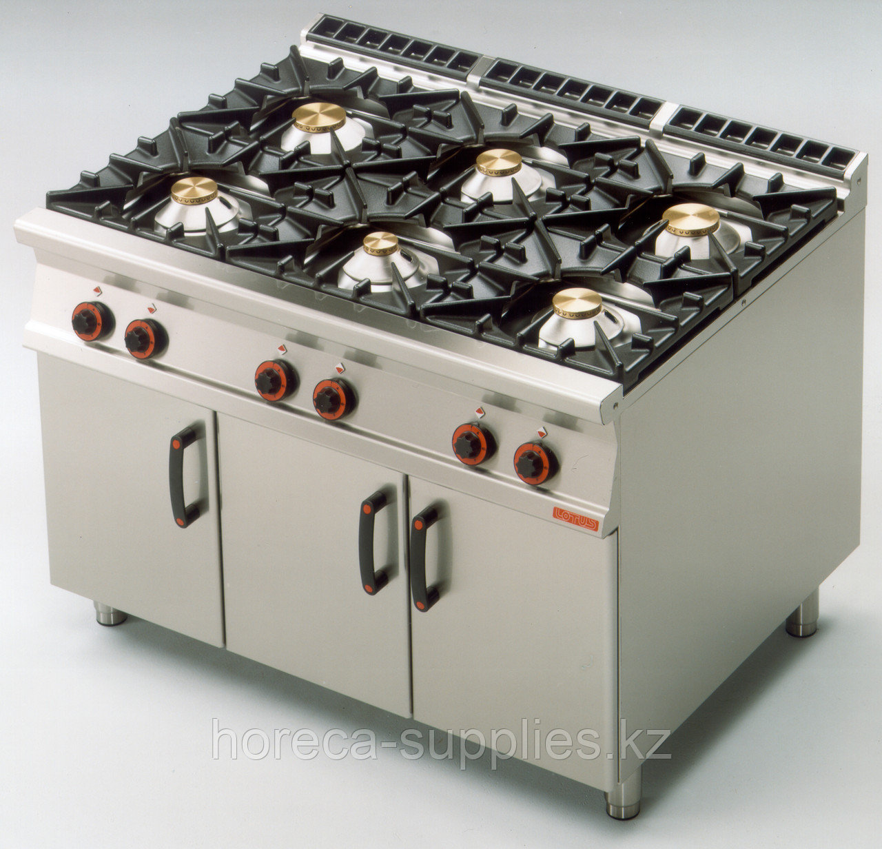 Плита газовая LOTUS PC-912G шестигорелочная без жарочного шкафа (серия 90)