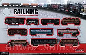 Железная дорога RAIL KING (122 см * 68 см)