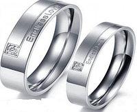 """Парные кольца для влюбленных """"Для любимых""""*, фото 1"""