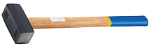 Кувалда кованая с деревянной рукояткой 7000 гр. 10934 (002)