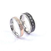 """Парные кольца для влюбленных  """"Искренние чувства""""*, фото 1"""