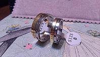 """Парные кольца для влюбленных """"Прекрасные чувства"""" под золото*, фото 1"""