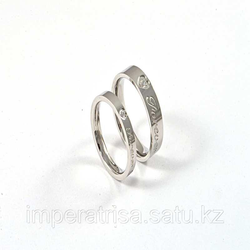 """Парные кольца для влюбленных """"Милые сердца"""""""