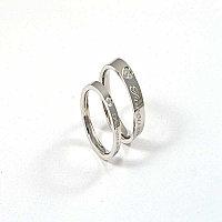 """Парные кольца для влюбленных """"Милые сердца"""", фото 1"""