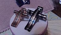 """Парные кулоны для влюбленных """"Стильные кресты"""", фото 1"""