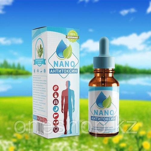Капли Anti Toxin Nano для выведения токсинов