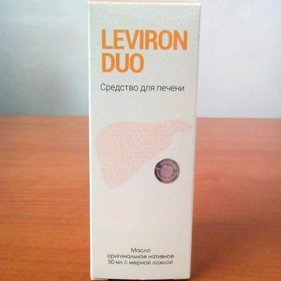 Левирон Дуо - масло для восстановления печени