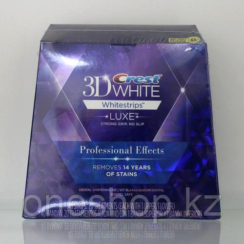 Отбеливающие полоски Crest 3D White Luxe Whitestrips Glamorous White