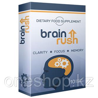 Препарат BrainRush для усиления мозговой активности