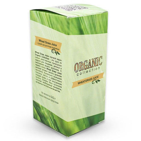 Препарат Detox Wheatgrass для очищения организма от токсинов
