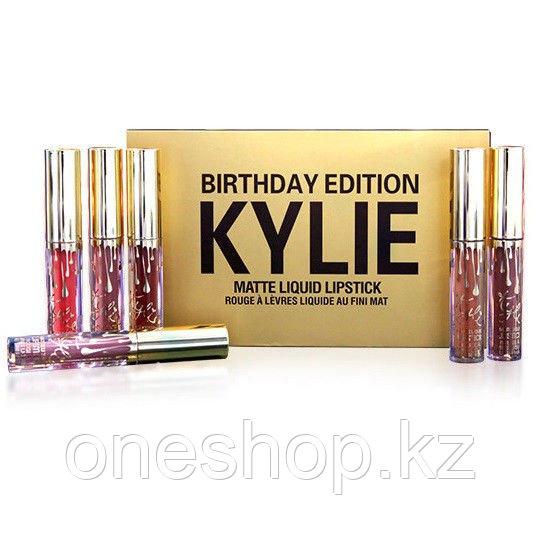 Матовая жидкая помада Kylie Jenner Birthday Edition (набор из 6 штук)