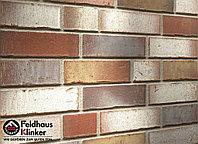 """Клинкерная плитка """"Feldhaus Klinker"""" для фасада и интерьера R921 vario ardor trecolora"""