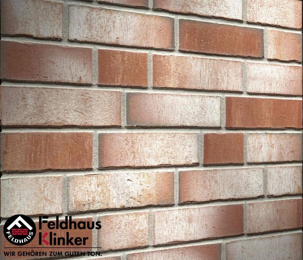 """Клинкерная плитка """"Feldhaus Klinker"""" для фасада и интерьера R923 vario"""