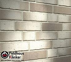 """Клинкерная плитка """"Feldhaus Klinker"""" для фасада и интерьера R941 vario agro albula"""