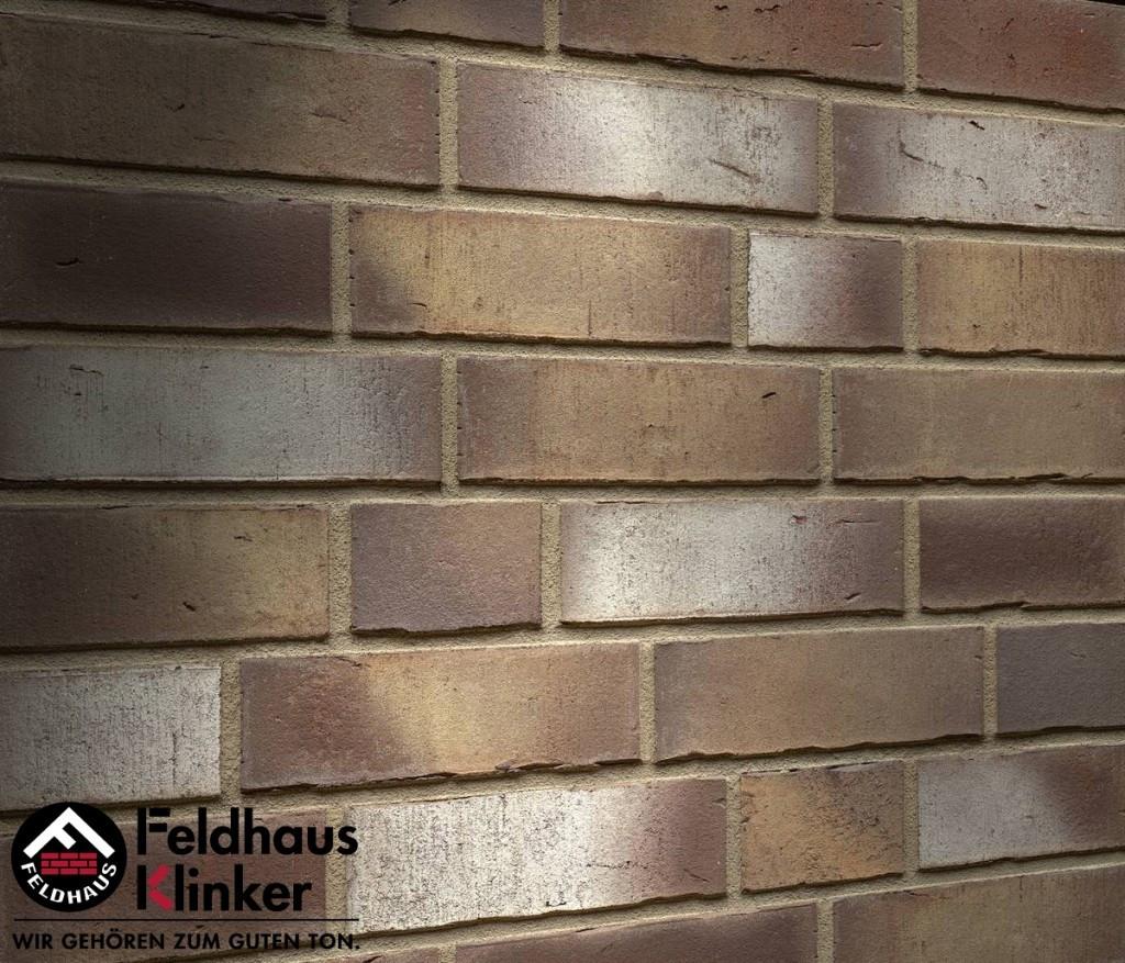 """Клинкерная плитка """"Feldhaus Klinker"""" для фасада и интерьера R932 vario geo carina"""