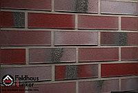 """Клинкерная плитка """"Feldhaus Klinker"""" для фасада и интерьера R563 carbona ardor rutila, фото 1"""
