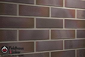 """Клинкерная плитка """"Feldhaus Klinker"""" для фасада и интерьера R581 salina carmesi maritimo"""