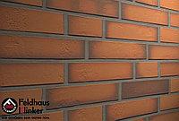 """Клинкерная плитка """"Feldhaus Klinker"""" для фасада и интерьера R718 accudo terracotta vivo, фото 1"""
