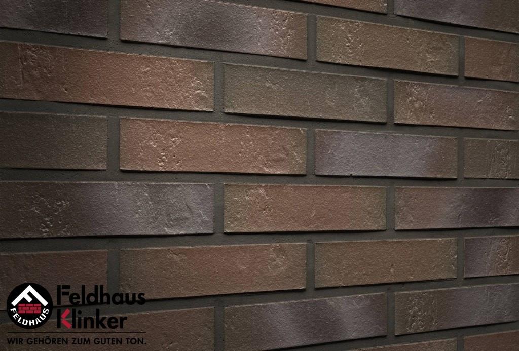 """Клинкерная плитка """"Feldhaus Klinker"""" для фасада и интерьера R721 accudo cerasi maritim"""