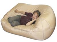 Пуфик-кресло с гранулами