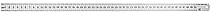 Линейка измерительная 150 мм металлическая 30560 (002)