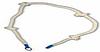 Канат для лазания с узлами 2,3м