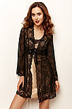 Женская  атласная сорочка +кружевной халат. Anabel Arto., фото 3
