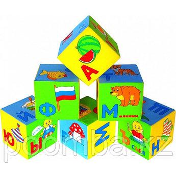 """Набор из 6 кубиков """"Умная азбука"""""""