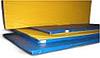 Мат гимнастический 1,0х1,0х0,1м цветной(искусственная кожа)