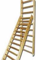 Лестница навесная с зацепами