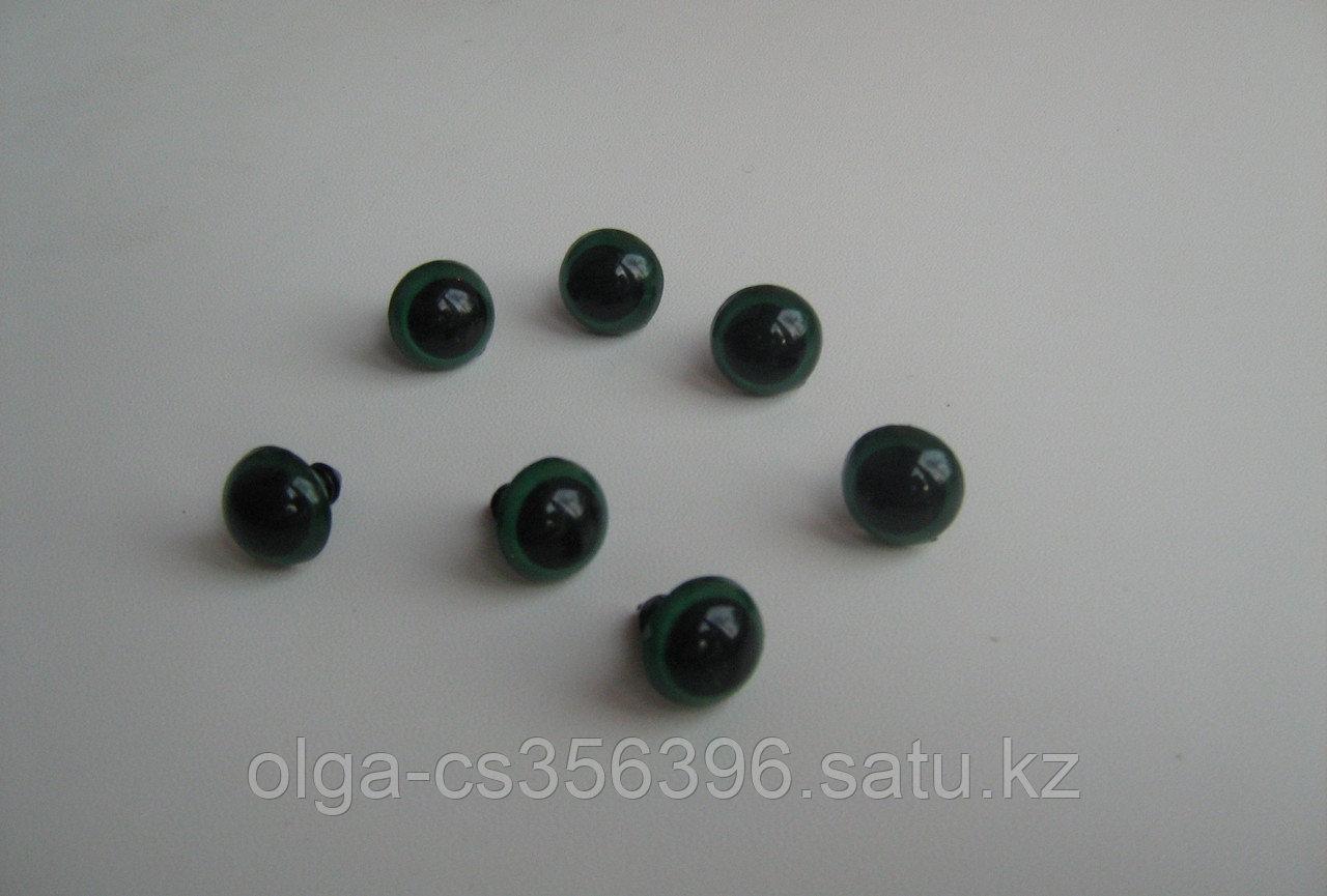 Глаза. 21 мм. Зеленые.  Creativ 1083 - 1