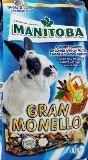 Manitoba Gran Monello Кормовая смесь для кроликов с фруктами на основе отборных ингредиентов, 1кг, фото 1