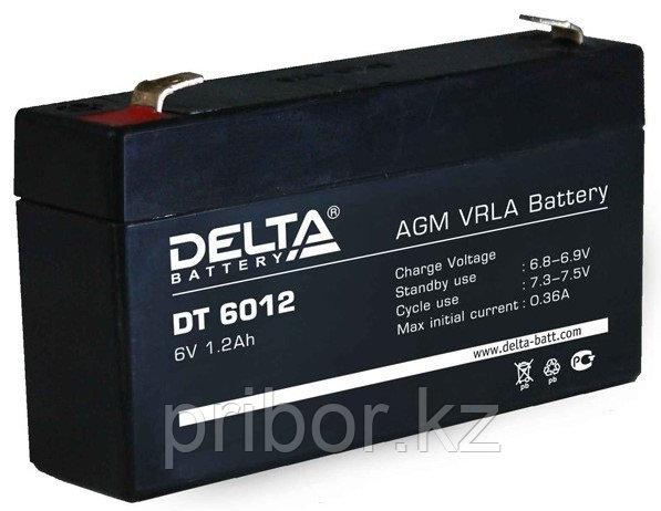 Аккумулятор DELTA DT, 6V  - 1.2A (DT 6012)