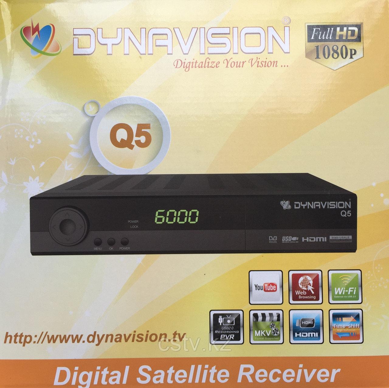 Спутниковый ресивер Dynavision Q5
