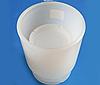 Форма сферическая двухэлементная полимерная для сыра d100мм (1 кг)