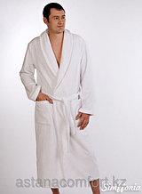 Мужской банный махровый халат. Россия