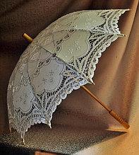 Кружевной зонт, свадебный зонтик