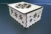 """Подарочная коробка из фанеры """"Год петуха"""", фото 1"""