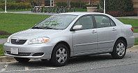 Защита картера и КПП Corolla E12 2002-2007