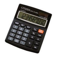 Калькулятор Citizen SDC-810BN (черный)